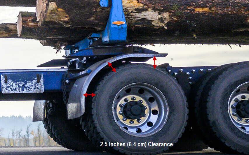 Wheel Clearance TruckClaws